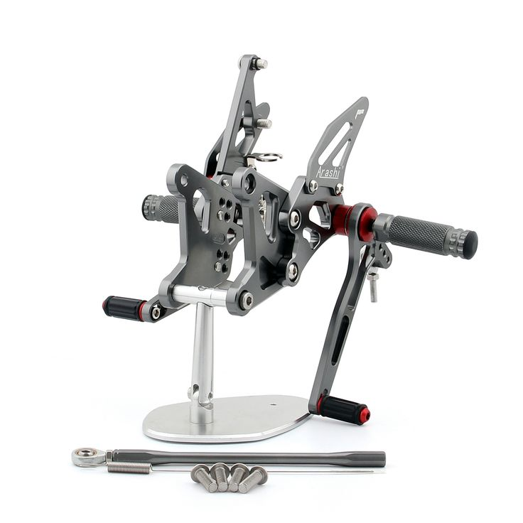Mad Hornets - Rearset Adjustable Rear Set Kawasaki ZX6R 636 Ninja (2005-2006) Gunmetal, $199.99 (http://www.madhornets.com/rearset-adjustable-rear-set-kawasaki-zx6r-636-ninja-2005-2006-gunmetal/)