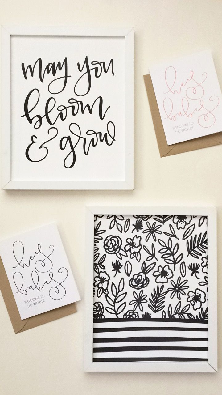 113 best ioa greeting cards images on pinterest greeting cards 8x10 hand lettered calligraphy art prints and greeting cards for new baby just the kristyandbryce Images