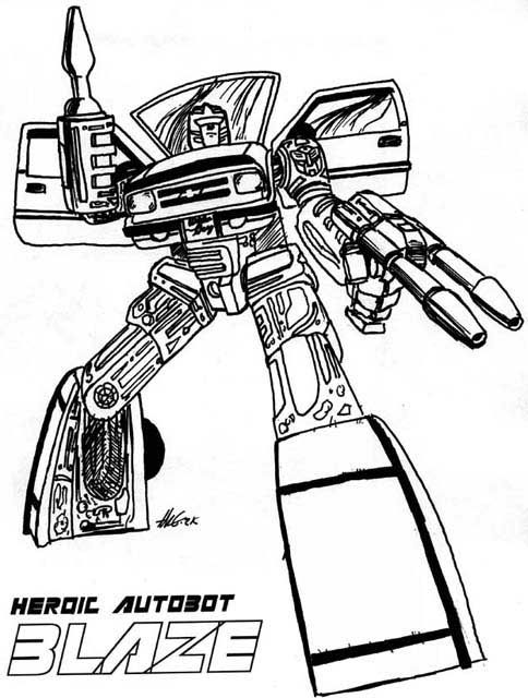 transformers free coloring pages clampdown - photo#28
