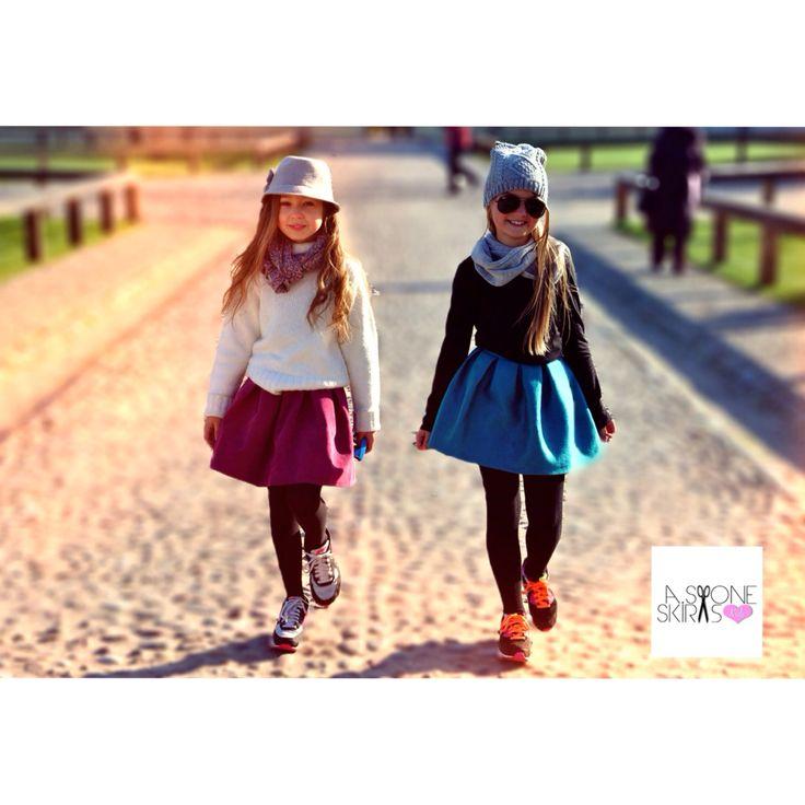 Spódniczki OPAL i ALICE www.kids.stoneskirts.pl #fashionkids #modadziecieca #skirts #fashion #moda #kids #spodniczki