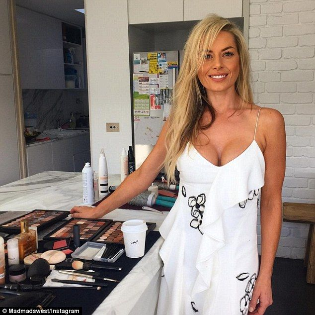 Supermum! Ex-Neighbours actress and mother-of-six Madeleine West has listed her tips to successfully flying with kids after a recently holiday with her family