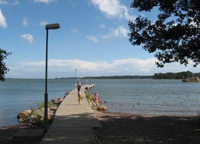 The beach of Matinlahti, Espoo