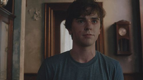 Pretty damn cute, Freddie. | Freddie Highmore Has Gone And Neville Longbottomed On Us