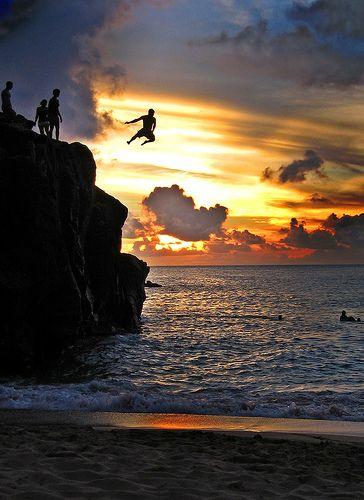 30. Jump off The Rock at Waimea Bay—we dare you!
