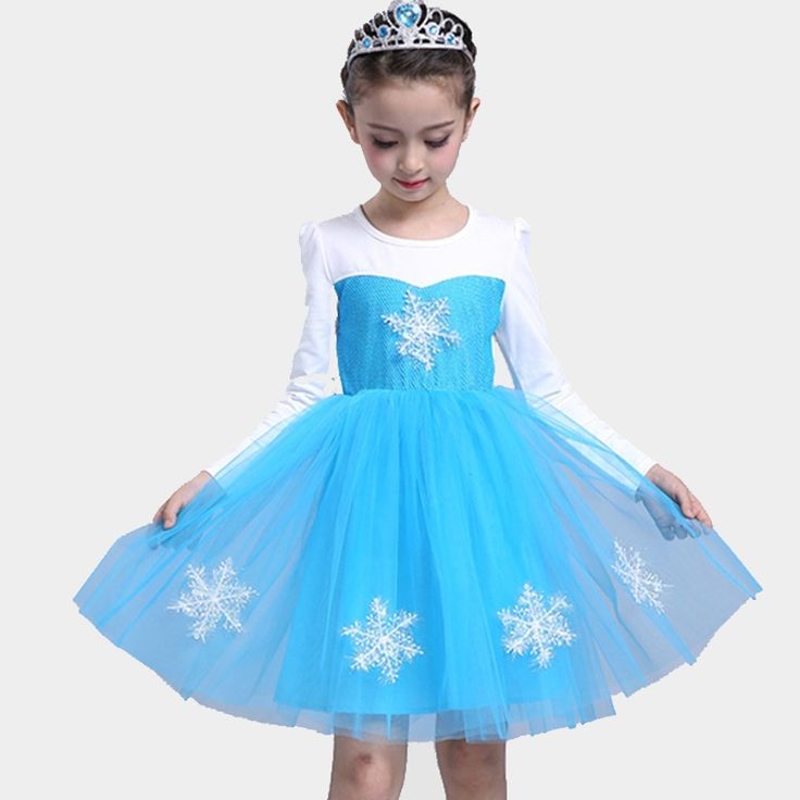 17.21$  Buy now - http://alimde.shopchina.info/1/go.php?t=32789596405 - Baby Kids Princess Dresses For Girls Birthday Party Dress Long Sleeve Cosplay Performance Dress 2 6 8 10 Years Vestidos Infantil  #buychinaproducts