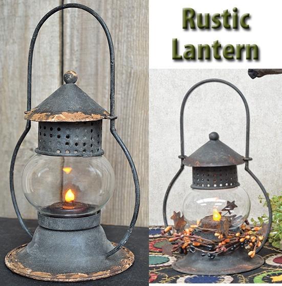 Rustic Lantern Kruenpeeper Creek Country Gifts Kp
