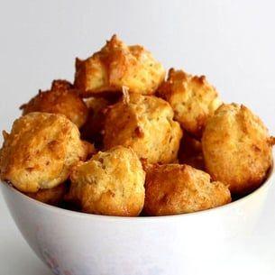Gougères jambon et emmental
