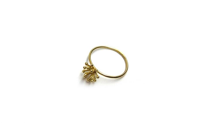 Liliana Guerreiro | Collections - Handmade 19 carat gold ring, using filigree technique