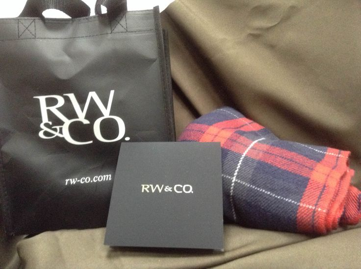 Day 30 of 40 Days of Giveaways. RW&CO is giving away a scarf for him and a $40 gift card.