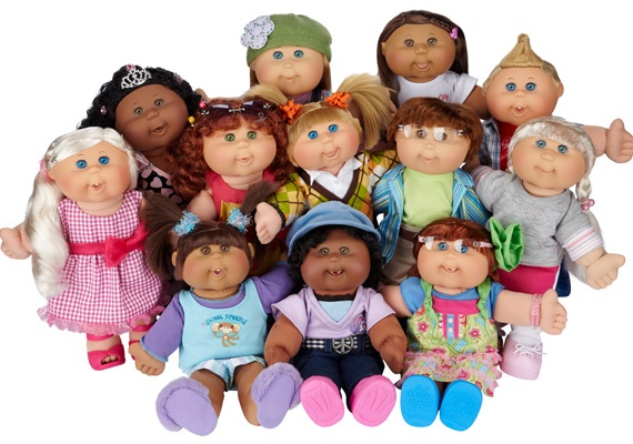 Cabbage Patch Kids-1980s toys. I remember a friend having a few of these and thinking she was so lucky