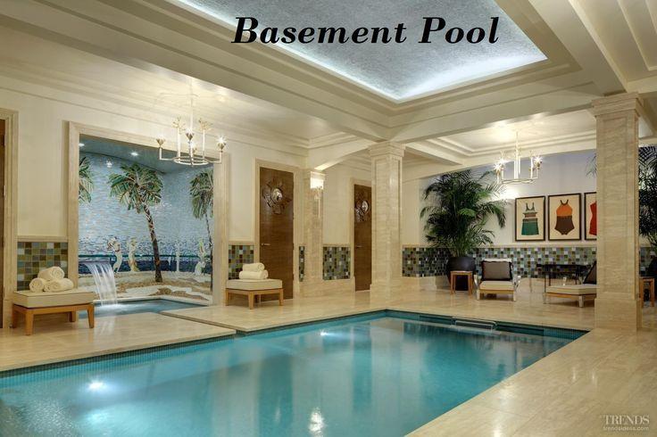 12 Best Basement Pool Images On Pinterest Pools