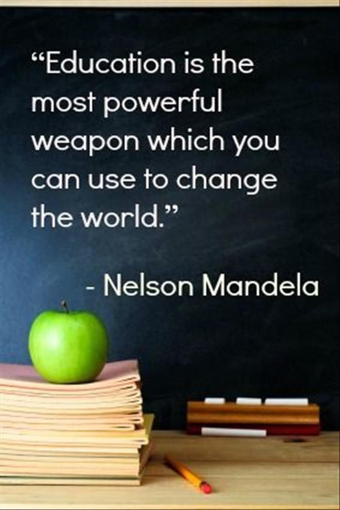 Education and best teacher