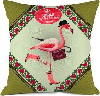 Milli Home Decorative Pillows : 65 best Flamingo Throw Pillows images on Pinterest Flamingos, Pink flamingos and Cushions