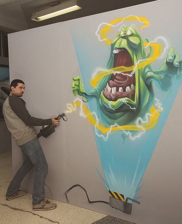 Interactive 3-D Paintings Invite You to be Part of the Artwork - My Modern Metropolis