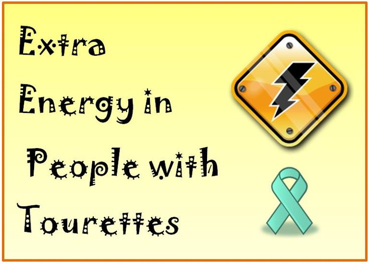 Extra Energy in People with Tourettes