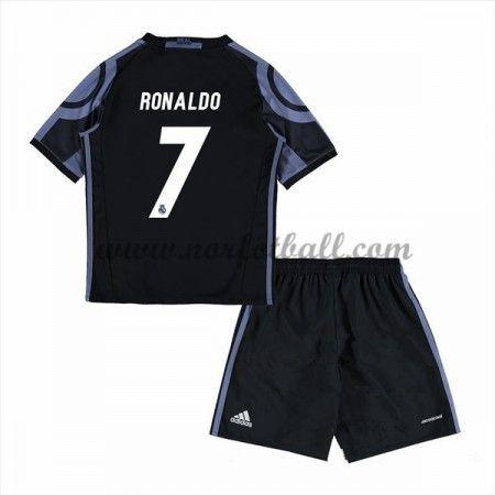 Billige Fotballdrakter Real Madrid 2016-17 Ronaldo 7 Barn Tredje Draktsett Kortermet