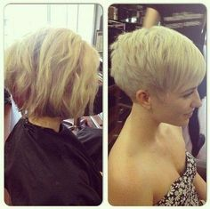 Nothing but pixie cuts