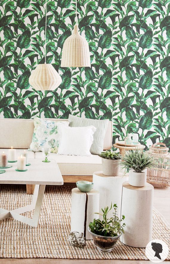 Add a tropical feel to your interior with our Vibrant Botanical wallpaper, in just a few minutes! :)   SIZE   * Sample 20 x 20 / 50.8 cm x 50.8 cm *