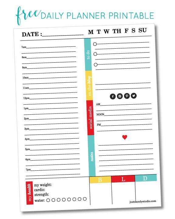The 195 best Planner Organizer images on Pinterest   Planner ideas ...