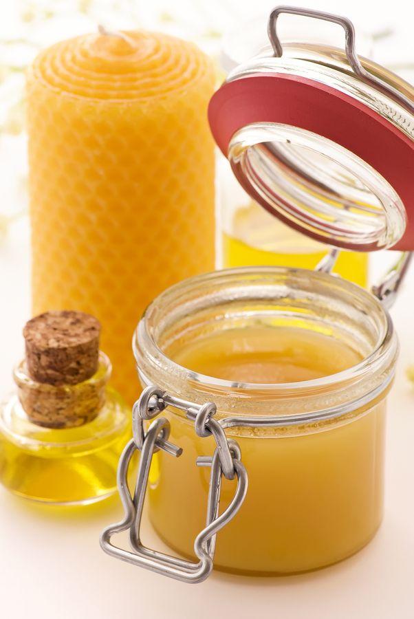 Beeswax homemade skincare