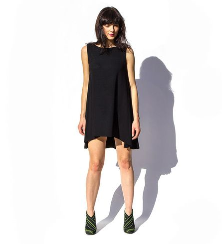 Circle Light Black Dress - bierzniepytaj.pl #SRDF