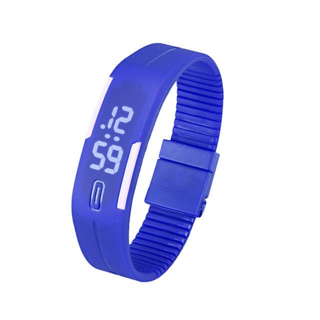 Hot Sale Blue Sport Watch Famous Brand Casual LED Digital Watch Women Candy Color Silicone Watch Clock Relojes hombre 2017 Feida
