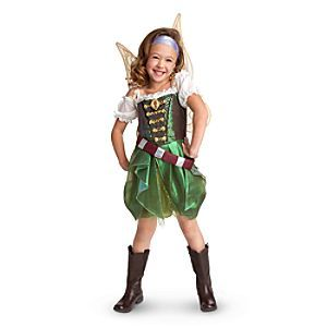 She can imagine herself on swashbuckling high sea adventures as the star of Disney's The Pirate Fairy in this Zarina Costume Collection for Girls. With the buccaneering costume and accessories, including wings, she'll become the dust-keeper fairy.