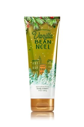 Vanilla Bean Noel Ultra Shea Body Cream - A Christmastime treat of fresh vanilla & sugar cookies, inspired by pure comfort and joy