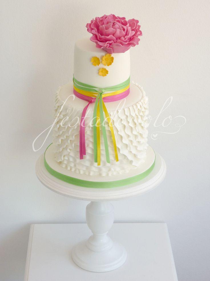 Um dos bolos que adorei fazer esta semana  (baseado numa criação original de Blissfully)