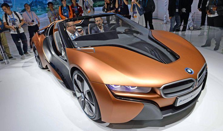 Prototipo del coche BMW iVision.