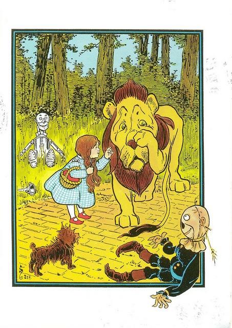 'The Wonderful Wizard of Oz' (L. Frank Baum) by W. W. Denslow