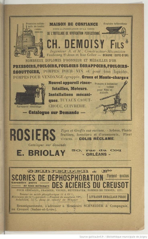 Bulletin du Comité d'agriculture de Beaune | 1913-01 | Gallica