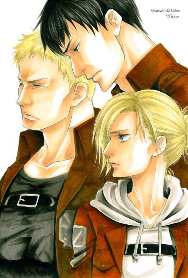 1000+ images about Reiner & Bertolt on Pinterest ...