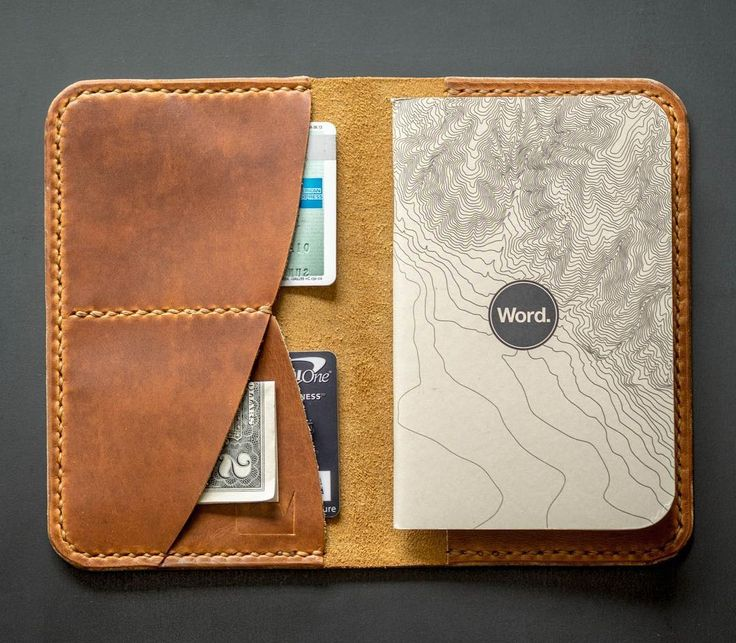 Get all your travel documents and essentials organized in rugged style with the Smiths & Kings Passport & Notebook Cover - handcrafted in Los Angeles. #UrbanEDCSupply