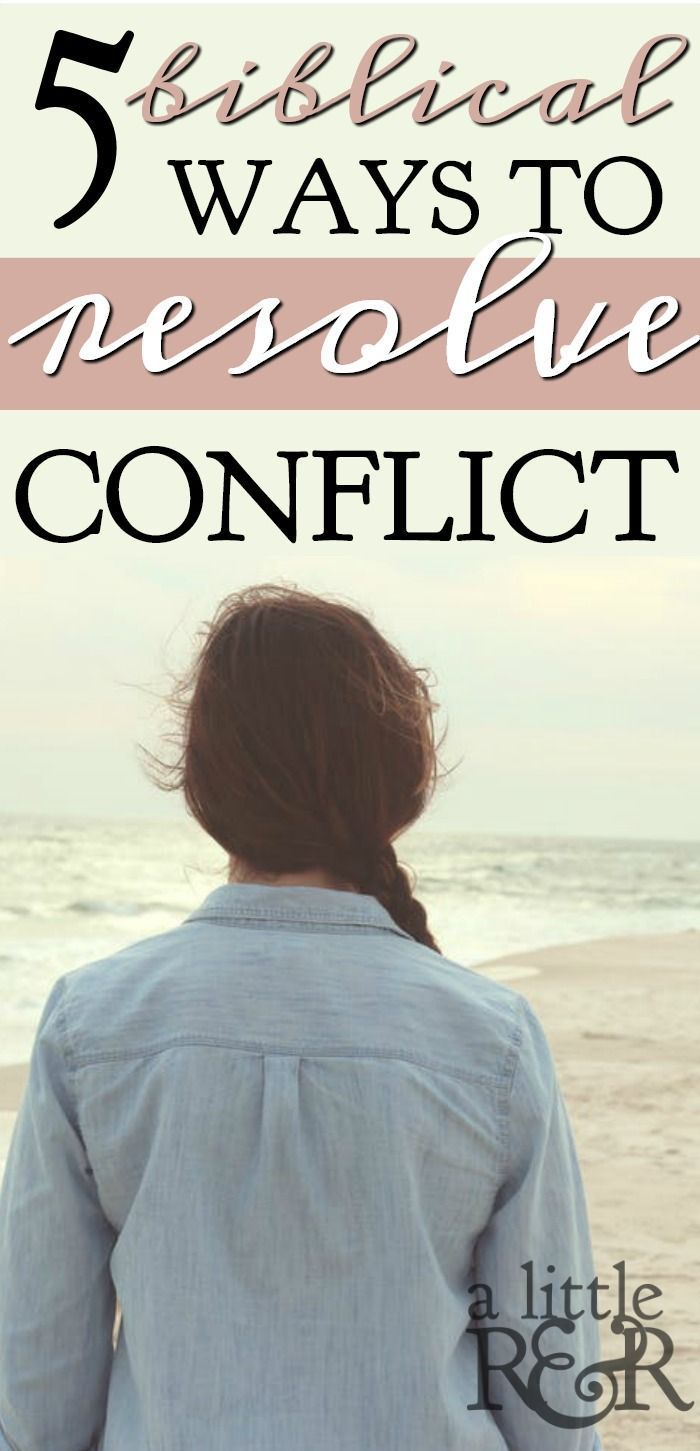 Conflict dating