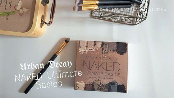Urban Decay: Naked Ultimate Basics y descuentazo con el FRIENDS & FANATICS maquillaje Sombras de ojos Urban Decay