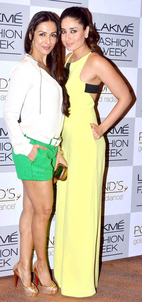 Kareena Kapoor with Malaika Arora Khan