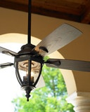 Bronze Outdoor Ceiling Fan - traditional - ceiling fans - - by Horchow