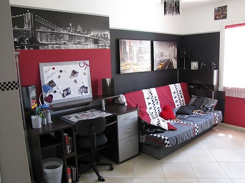 1000 images about chambre ado on pinterest bouffant. Black Bedroom Furniture Sets. Home Design Ideas