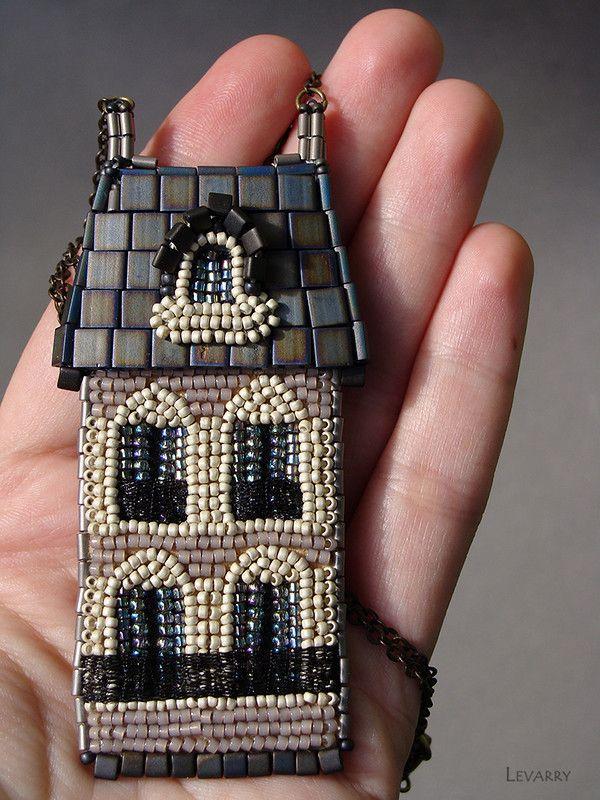 Мой дом всегда со мной. Париж. | biser.info - всё о бисере и бисерном творчестве