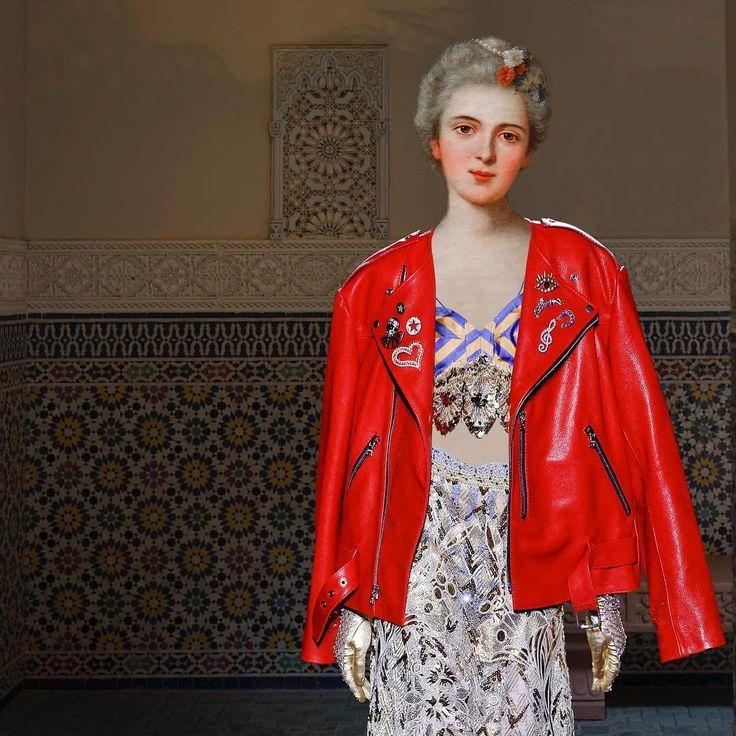 Mode is de rode draad in het werk van Edwin Antonio. Deze 21-jarige kunstenaar uit Puerto Rico maakt collages waarbij hij mode en kunst mixt