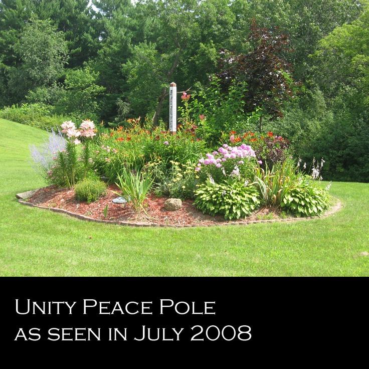 34 best Peace Poles images on Pinterest | Peace pole, Garden art and ...