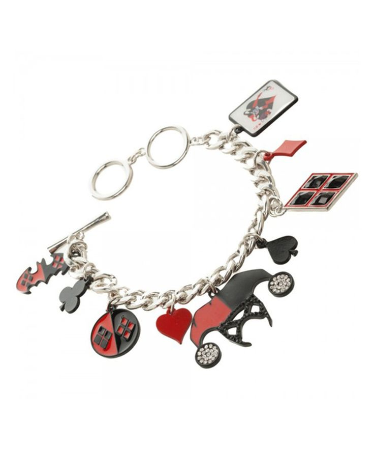 Look what I found on #zulily! Harley Quinn Charm Bracelet by Harley Quinn #zulilyfinds
