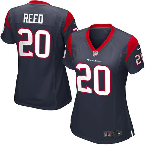 Ed Reed Houston Texans Nike Women's Game Jersey – Navy Blue - $34.99