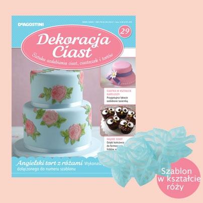 Numer 29 Dekoracji Ciast. Sprzedaż archiwalna: http://sklep.deagostini.pl/dekoracja-ciast-numer-29.html