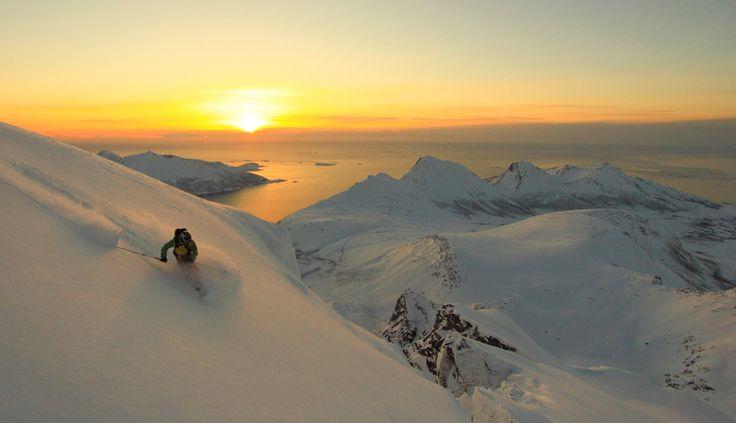 Photo of the Day: Ski Touring Troms, Norway