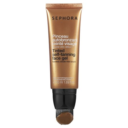 Broncearte nunca había sido tan fácil y seguro. Tinetd self-tanning face gel - Sephora Collection