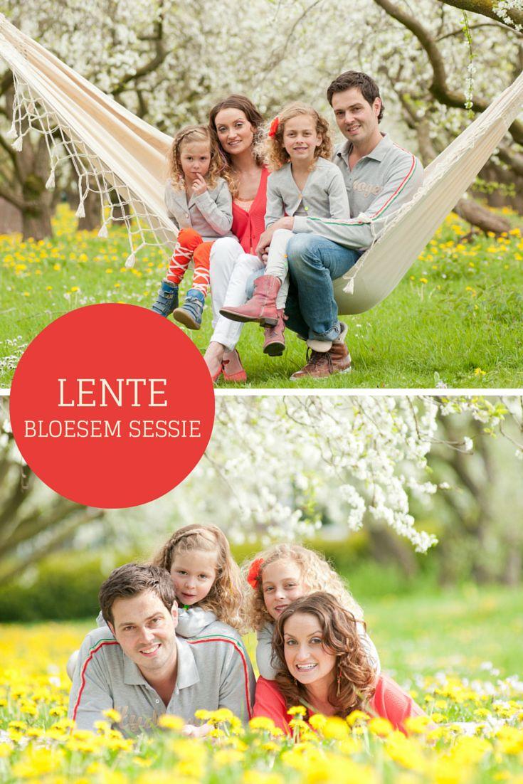 Familiefoto een fotosessie met je gezin in een bloeiende boomgaard. Boek een sessie bij Willem Hoogendoorn Fotografie, Woerden | Spring family photography session