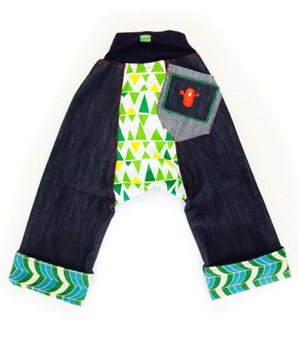 Too Cool Chubba Jean http://www.oishi-m.com/collections/all/products/too-cool-chubba-jean funky kids designer clothing