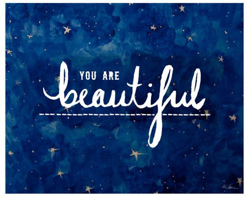 You are truly beautiful, i believe this, whether you have an eating disorder or just body image issues or low self confidence, but if you don't believe it, that you are beautiful, you will never feel it-Ashley ray